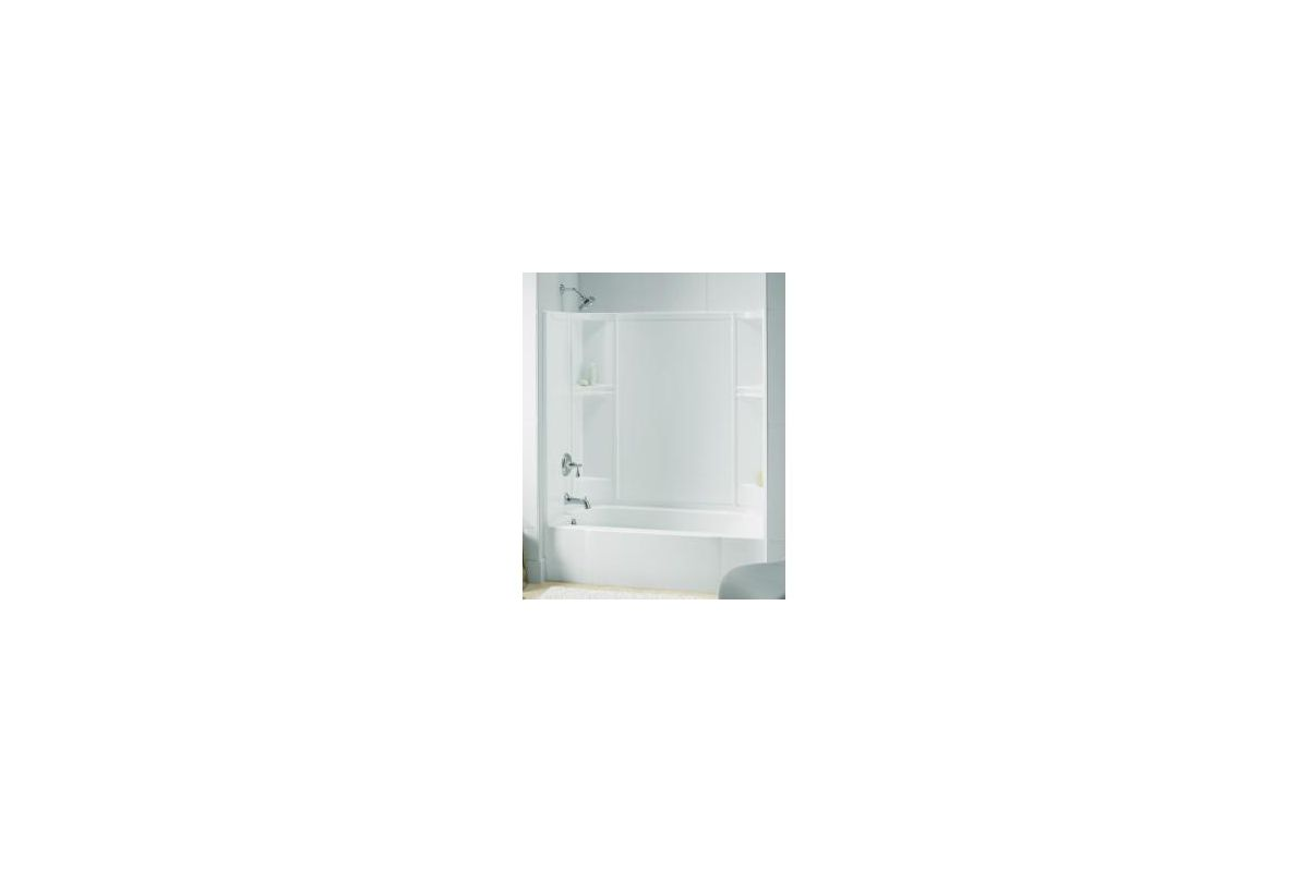 Sterling Accord Bath Shower Sterling 71240112 0 White Accord Series 7124 Afd Smooth
