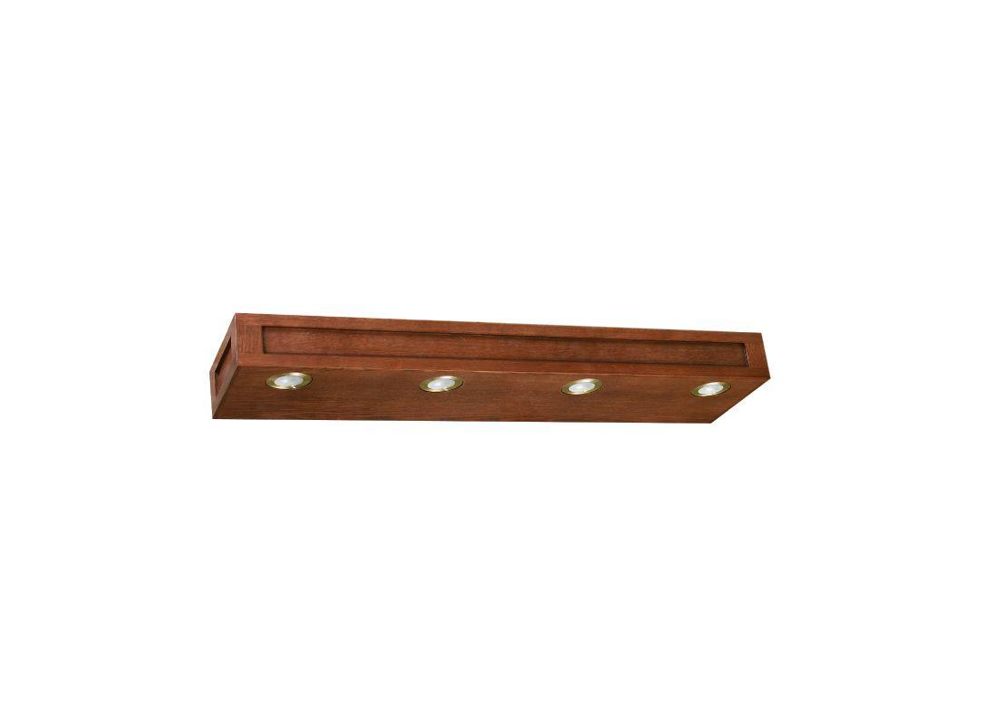 Vanity Light Bar Replacement Parts : Sunny Wood FR3604 Mission Oak Franciscan 36