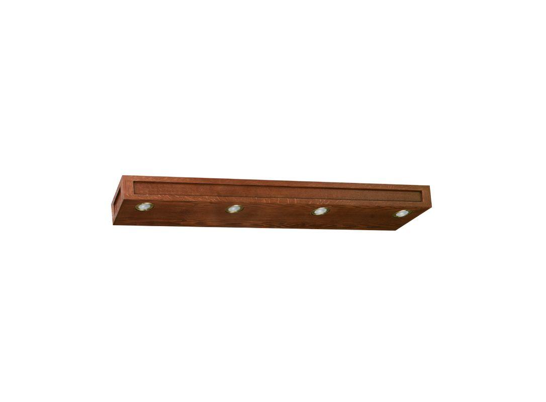 Vanity Light Bar Parts : Sunny Wood FR4804 Mission Oak Franciscan 48