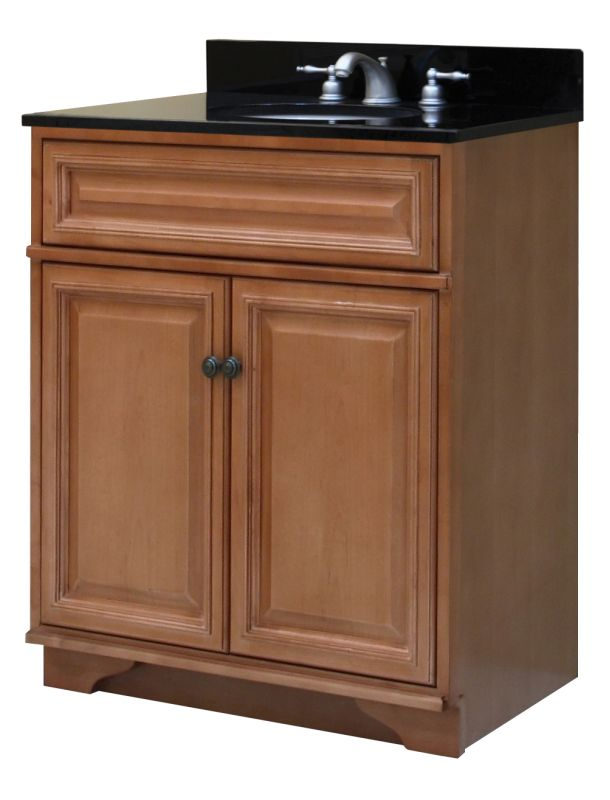 "Sunny Wood BW3021 Briarwood Briarwood 30"" Maple Wood Vanity Cabinet ly FaucetDirect"