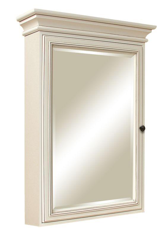 Sunny wood sl2636m sanibel 25 single door framed medicine for Wood frame medicine cabinet