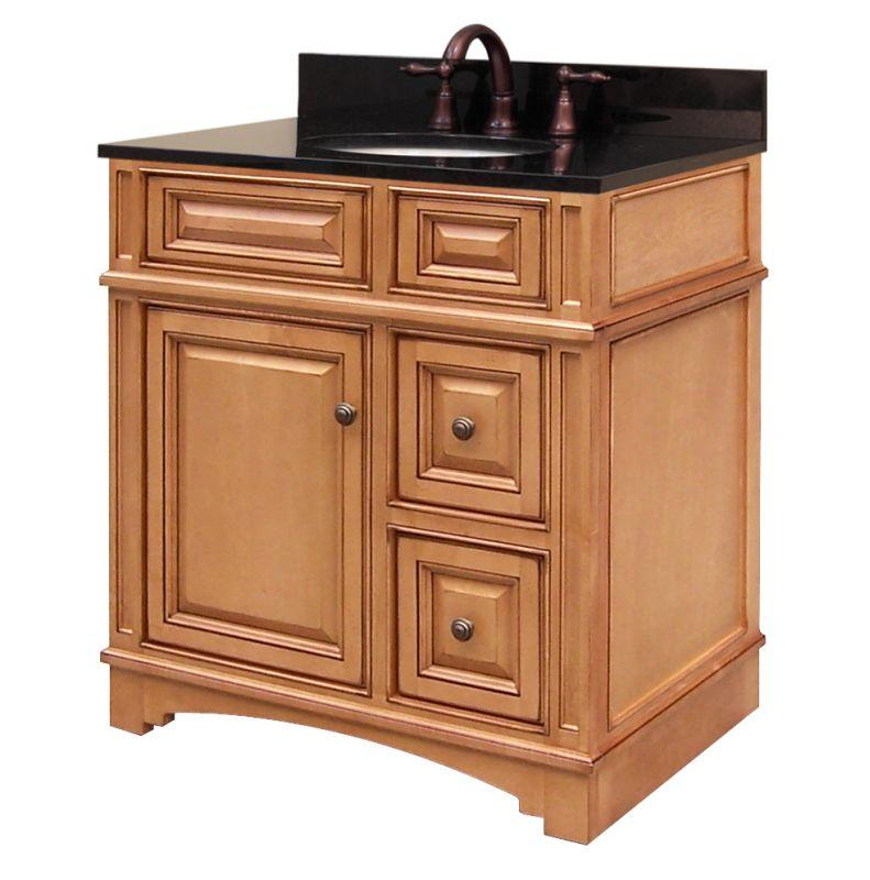 "Sunnywood Kitchen Cabinets: Sunny Wood VE3021D Autumn Glaze Vintage Estate 30"" Wood"