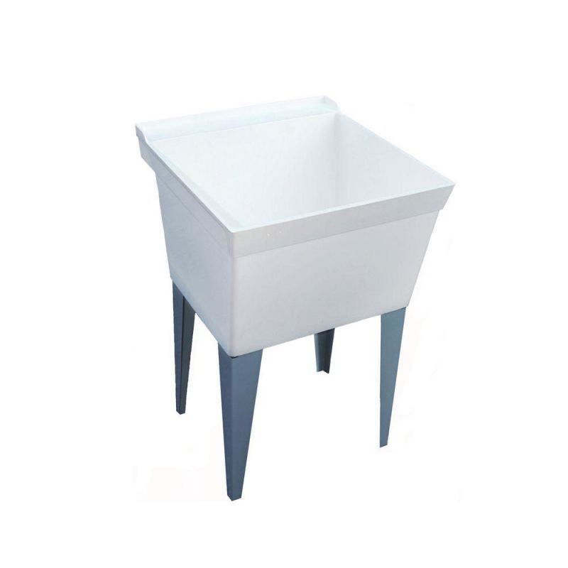 Composite Laundry Sink : MF40000FM.001 White 21-5/8