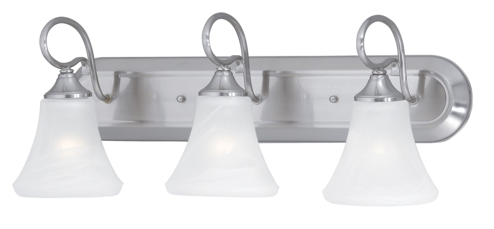 Hinkley lighting 5923br 3 light 24 wide bathroom fixture from the daphne collection brushed bronze for Brushed bronze bathroom lighting