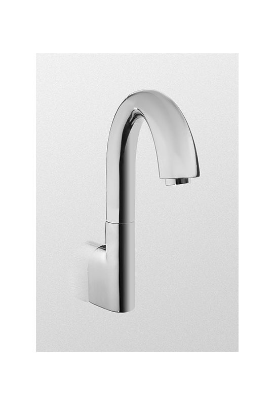 Toto Tel3lgw10 Cp Polished Chrome Helix Wall Mounted Electronic Bathroom Faucet With Motion
