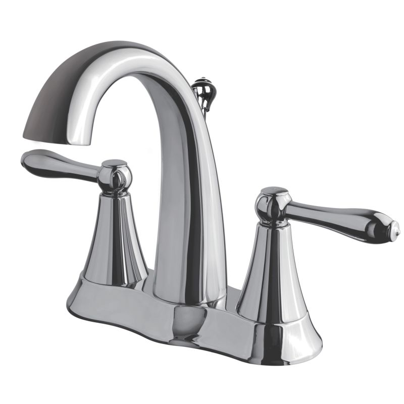 Faucet Direct : Ultra Faucets 1571-0296 Chrome Transitional Centerset Lavatory Faucet ...