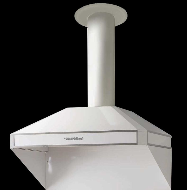 Vent-A-Hood AH12-242 600 CFM 12 Tall 42 Canopy Range Hood with Dual Blowers an White Range Hood