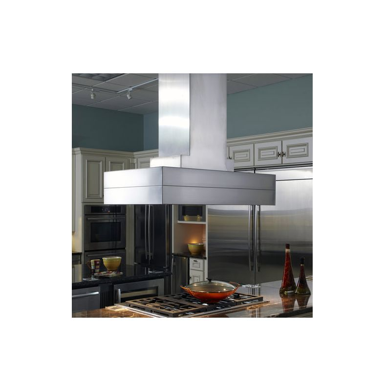 Vent-A-Hood CIEH9-254 54 900 CFM Island Range Hood with Halogen Lights Stainless Steel Range Hood