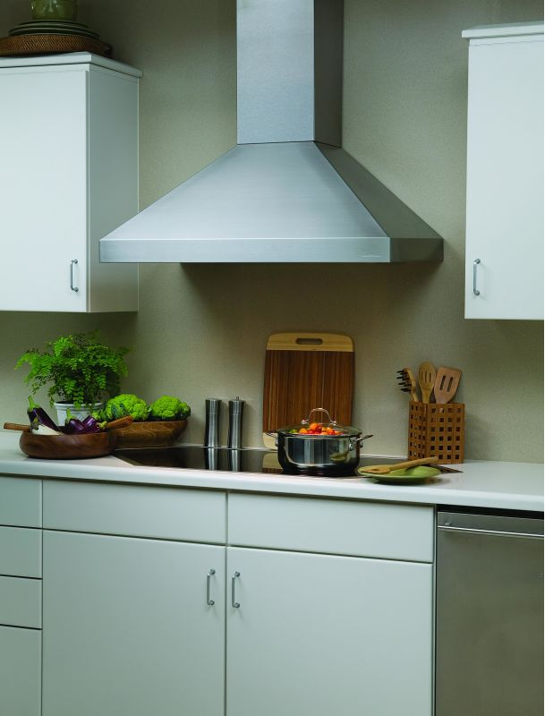Vent-A-Hood PDH14-248 600 CFM 48 Euro-Style Wall Mounted Range Hood with Dual Stainless Steel Range Hood