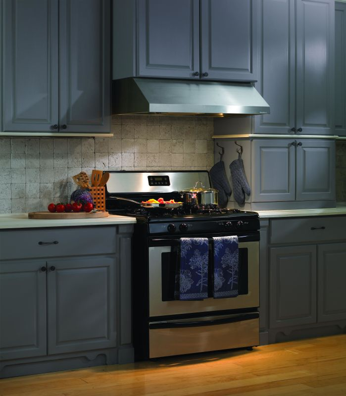 Vent-A-Hood PRH9-142 300 CFM 42 Under Cabinet Range Hood with a Single Blower a Stainless Steel Range Hood