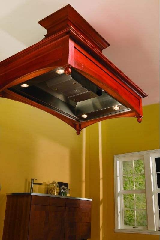 Vent-A-Hood TH454PSLE 1100 CFM 54 THPSLE Island Mounted Liner with Halogen Ligh Stainless Steel Range Hood