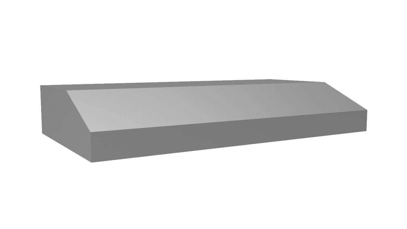 Vent-A-Hood PRH6-K36 250 CFM 36 Inch Wide Stainless Steel Under Cabinet Range Ho Stainless Steel Range Hood