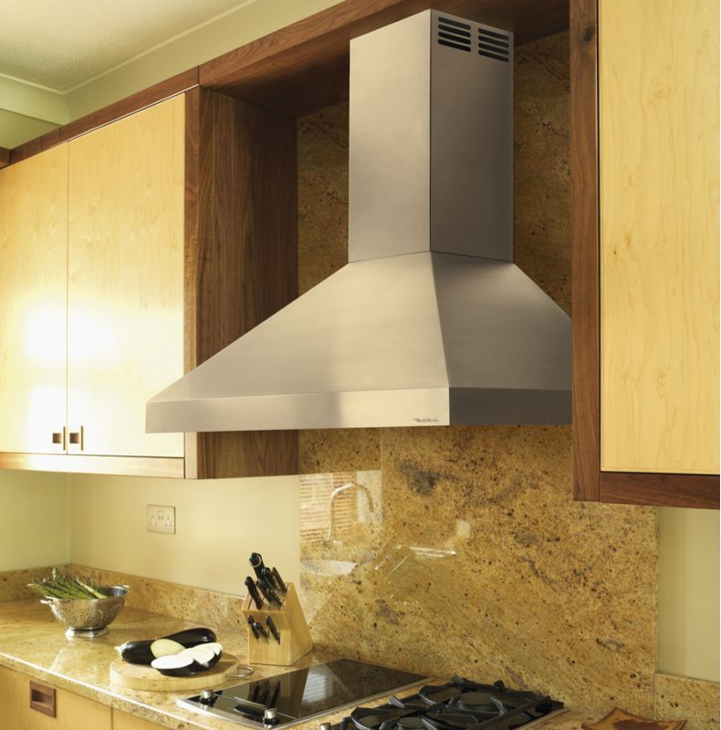 Vent-A-Hood PDAH14-K48 250 CFM 48 Wall Mounted Duct-Free Air Recovery System (A Black Range Hood