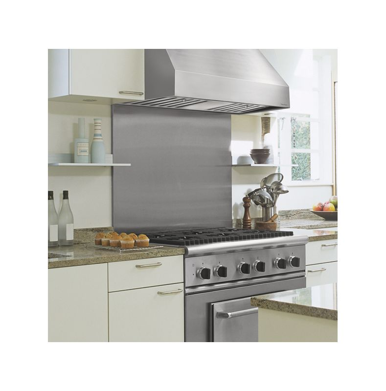 Vent-A-Hood PRXH18-M54 54 Wall Mounted Range Hood with Single or Dual Blower Op Stainless Steel Range Hood
