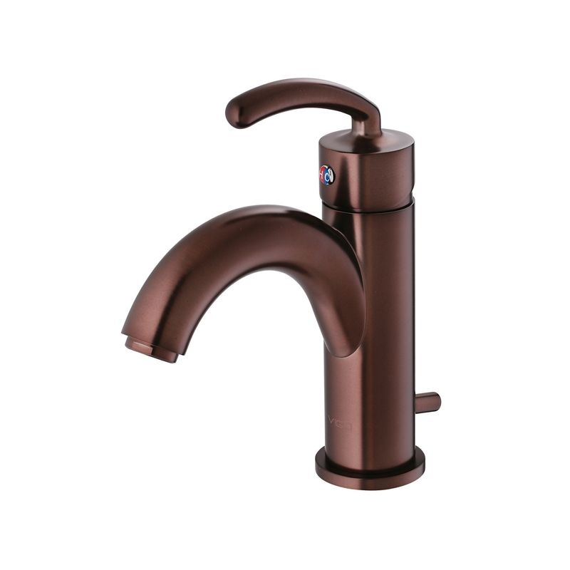Faucet Direct : ... - Single Handle Bathroom Faucet with Arc Spout - FaucetDirect.com