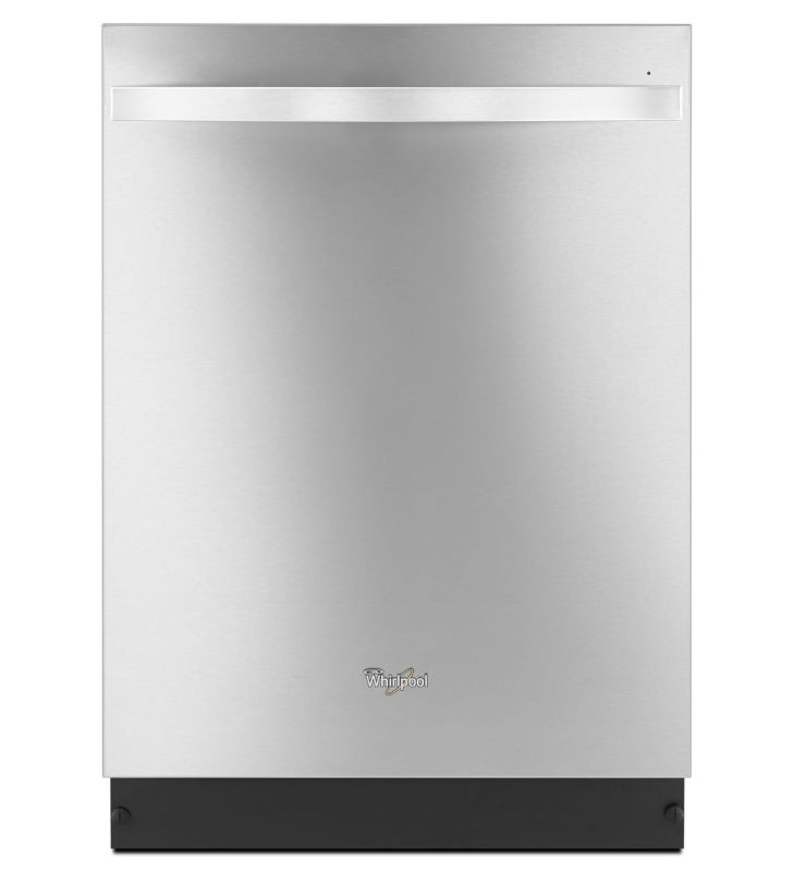 Whirlpool WDT920SAD 24 GoldA Series Dishwasher with TotalCoverage Spray Arm Monochromatic Stainless Steel Dishwashers Built-In