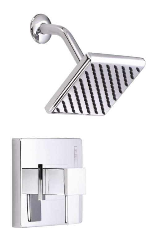 danze d510533bnt brushed nickel pressure balanced shower trim package with si. Black Bedroom Furniture Sets. Home Design Ideas