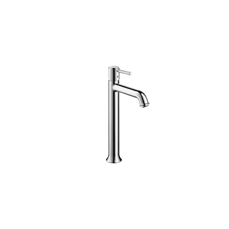Hansgrohe 14116001 chrome talis c bathroom faucet vessel with lever handle free metal pop up - Hansgrohe pop up drain ...