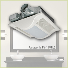 Ventilation Fans and bathroom exhaust fans at Panasonic.com