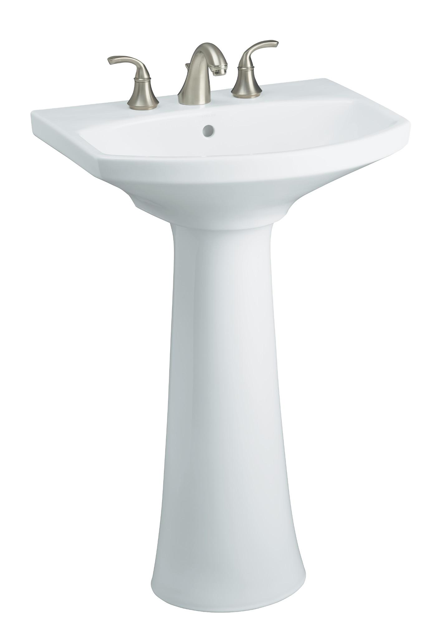 Bathroom Sink Manufacturers : Kohler K-10272-4-G Brushed Chrome Forte Widespread Bathroom Faucet ...