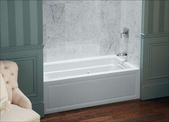 Kohler K 1946 Ra 0 White Archer Three Wall Alcove Soaking