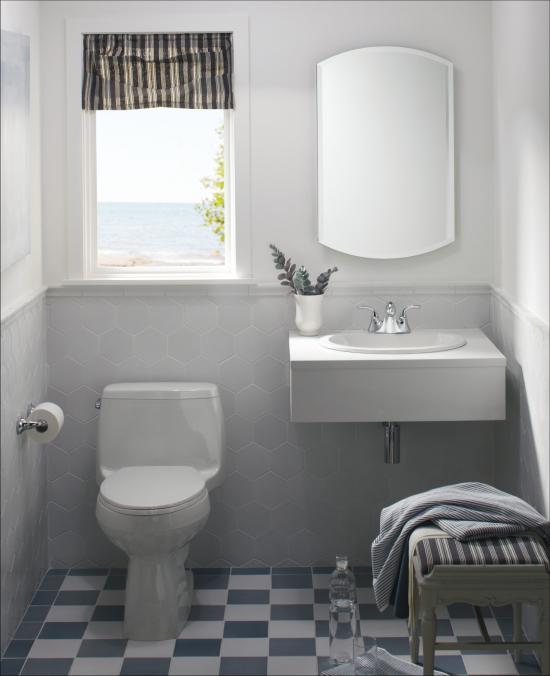 Kohler Santa Rosa >> Kohler K-3811-0 White Santa Rosa 1.6 GPF One-Piece Elongated Comfort Height Toilet with ...