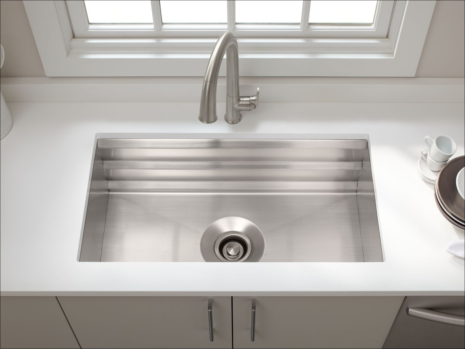 ... Kitchen Sink with Silent Shield? and Accessories - FaucetDirect.com