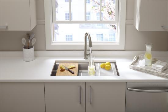 Kitchen Sink Specifications Kohler k 5540 na stainless steel prolific 33 single basin kohler k 5540 specifications workwithnaturefo